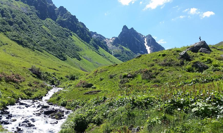 Klettersteig Madrisella : Klettersteig madrisella erste einblicke